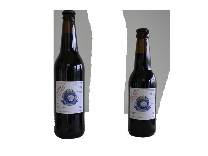 unserer Biere - Kronkorken Schwarz