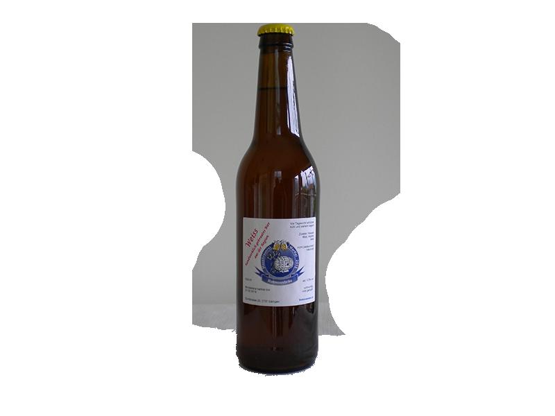 unserer Biere - Kronkorken Weiss