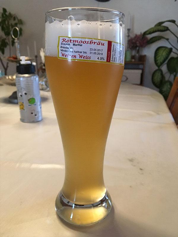 Rotmoosbräu Bier