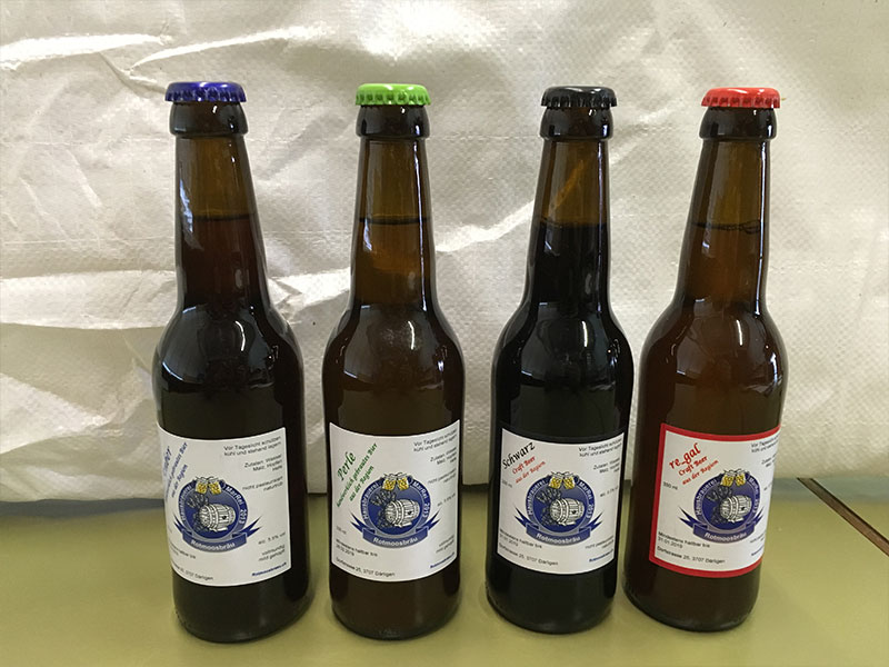 Rotmoosbräu Biere