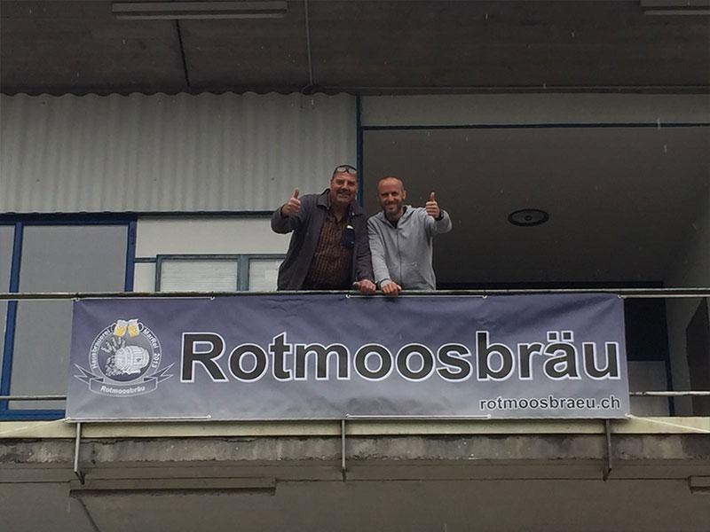 Reini und Björn Rotmoosbräu
